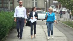 Conferință de presă organizată de Partidul Acțiune și Solidaritate privind depunerea unui denunț împotriva acțiunilor lui Vladimir Plahotniuc pentru atragerea la răspundere penală pentru infracțiunea de uzurpare a puterii în stat
