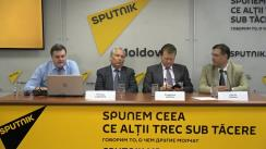 """Conferința de presă cu tema """"Problemele legislației lingvistice a Republicii Moldova și modalitățile de soluționare a acestora"""""""