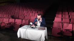 Conferință de presă organizată de Ateneul din Iași