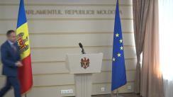 Declarațiile lui Andrian Candu după ședința Parlamentului din 21 septembrie 2017