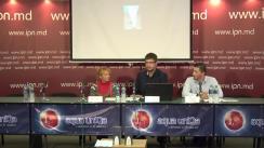 """Conferință de presă organizată de Institutul pentru Drepturile Omului din Moldova cu tema """"O nouă victimă de maltratare într-un spital psihiatric"""""""