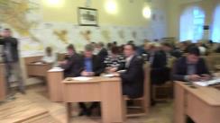 Ședința săptămânală a serviciilor primăriei Chișinău din 25 septembrie 2017