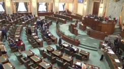 Ședința în plen a Senatului României din 25 septembrie 2017
