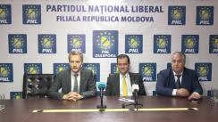 Conferință de presă organizată de Conducerea PNL Diaspora Republica Moldova cu ocazia vizitei președintelui Partidului Național Liberal, Ludovic Orban, la Chișinău