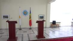 Conferință de presă susținută de Ministrul Afacerilor Externe și Integrării Europene al Republicii Moldova, Andrei Galbur, și Ministrului Afacerilor Externe al Republicii Cipru, Ioannis Kasoulides