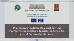 Prezentarea studiului regional privind reprezentarea politică a femeilor în țările din cadrul Parteneriatului Estic