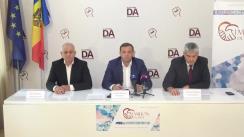 """Conferință de presă organizată de Partidul Platforma Demnitate și Adevăr cu tema """"Președintele Dodon pasibil de răspundere penală pentru acte de corupție"""""""