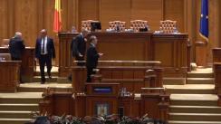 Ședința comună a Senatului și Camerei Deputaților României din 27 septembrie 2017