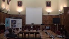 Conferință de presă susținută de prof.univ.dr. Mihaela Onofrei, Ordonator de Credite Universitatea Alexandru Ioan Cuza din Iași
