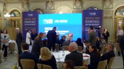 "Președintele României, Klaus Iohannis, participă la ""The United Way Roundtable On Philanthropy"""