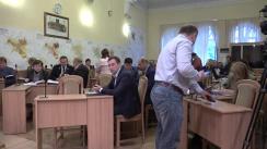 Ședința săptămânală a serviciilor primăriei Chișinău din 2 octombrie 2017