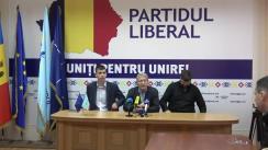 """Conferință de presă organizată de Partidul Liberal cu tema """"Moartea Primarului or. Sângera, Mihai Lari, sinucidere sau omor"""""""