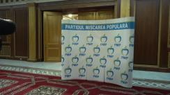 Conferință de presă după ședința Consiliului Executiv Național al PMP din 3 octombrie 2017