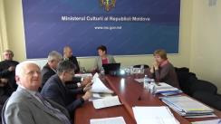 Ședința Consiliului Național al Monumentelor Istorice