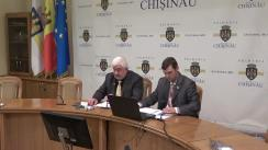 Ședința de consultări publice privind starea reală a lucrurilor în administrarea și funcționarea ÎMGFL 1-23 de pe teritoriul municipiului Chișinău și pregătirea fondului locativ către sezonul rece al anilor 2017-2018