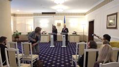 Declarații de presă susținute de Președintele Republicii Moldova, Igor Dodon, și vicepreședintele Republicii Bulgaria, Iliana Iotova