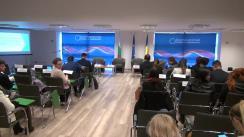 """Discursul susținut de către Lilyana Pavlova, ministru pentru Președinția Republicii Bulgaria a Consiliului Uniunii Europene 2018, cu tema """"Prima Președinție a Republicii Bulgaria a Consiliului Uniunii Europene 2018 – Priorități și provocări"""""""