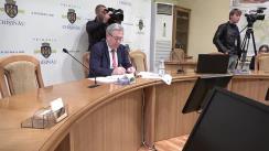 Ședința săptămânală a serviciilor primăriei Chișinău din 9 octombrie 2017