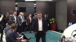 Conferința de presă susținută de președintele de onoare al PUN, Traian Băsescu, și președintele executiv al PUN, Anatol Șalaru