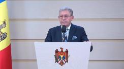 Declarațiile lui Mihai Ghimpu în timpul Ședinței Parlamentului Republicii Moldova din 6 octombrie 2017