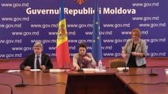 Briefing de presă organizat de Ministerul Educației, Culturii și Cercetării în comun cu Ministerul Afacelor Interne și Ministerul Sănătății, Muncii și Protecției Sociale privind problema abuzului față de copii în societate