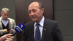 Declarație de presă susținută de Traian Băsescu