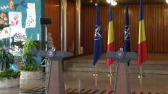 Declarație de presă susținută de Prim-ministrul României, Mihai Tudose, și secretarul general al NATO, Jens Stoltenberg
