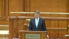 Președintele României, Klaus Iohanis, participă la cea de-a 63-a sesiune anuală a Adunării Parlamentare NATO
