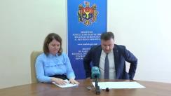 """Conferință de presă susținută de Ministrul Agriculturii, Dezvoltării Regionale și Mediului, Vasile Bîtca, cu tema """"Noile oportunități de dezvoltare a agroturismului prin modificarea și completarea Codului funciar"""""""