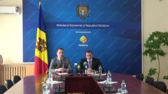 """Briefing de presă cu tematica """"Rezultatele preliminare ale Moldova Business Week 2017"""""""