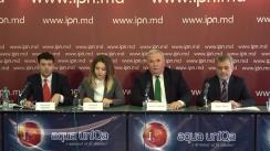 """Conferință de presă cu tema """"Poziția PLDM cu privire la parteneriatul politic pro-european"""""""
