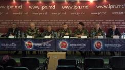 """Conferința de presă cu tema """"Poziția față de Acordul moldo-ucrainean privind controlul în comun al frontierei"""""""