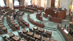 Ședința în plen a Senatului României din 10 octombrie 2017