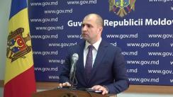 Declarațiile lui Vladimir Cebotari după ședința Guvernului Republicii Moldova din 11 octombrie 2017