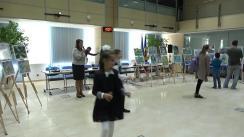 """Conferință de presă cu tema """"Rezultatele concursului de desene """"Povestea apei"""", dedicat aniversării a 125 de ani a întreprinderii SA Apă-Canal Chișinău"""""""