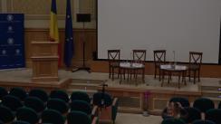 """Conferința cu tema """"Discursul urii, o amenințare pentru Europa astăzi?"""""""