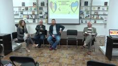 """Dezbatere organizată de Tinerii Tehnocrați cu tema """"Relațiile Moldo-Ucrainene: Honeymoon cu o lingură de dohot?"""""""