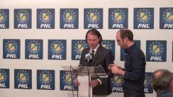 Conferință de presă susținută de senatorul PNL, Florin Cîțu, pe tema deciziilor privind remanierea guvernamentală