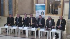 """Dezbaterea organizată de Fundația Universitară a Mării Negre cu tema """"50 de ani de la restabilirea relațiilor diplomatice. România și Germania azi"""""""