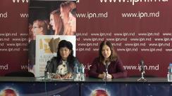 """Conferință de presă organizată de Asociația Muzical-Corală din Republica Moldova cu tema """"Festivalul-Concurs Internațional de Muzică Corală """"A ruginit frunza din vii"""" la cea de a 10-a ediție"""""""