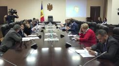 Ședința Comisiei Naționale pentru constituirea circumscripțiilor uninominale permanente