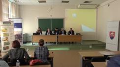 """Forumul bilateral moldo-slovac privind agricultura organică """"Agricultura în secolul 21"""""""