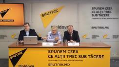 """Conferința de presă cu tema """"Securitatea Moldovei și consolidarea NATO în Europa"""""""