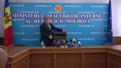 Conferință de presă organizată de Ministerul Afacerilor Interne pe marginea subiectului reflectat în mass-media, cu privire la activitatea agenților de patrulare, modalitatea de stopare și verificare a șoferilor în traficul rutier