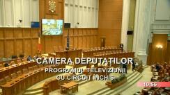 Ședința comună a Senatului și Camerei Deputaților României din 18 octombrie 2017