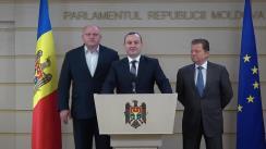 Declarația fracțiunii PSRM în timpul ședinței Parlamentului Republicii Moldova din 19 octombrie 2017
