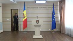Declarațiile lui Mihai Ghimpu în timpul ședinței Parlamentului Republicii Moldova din 19 octombrie 2017