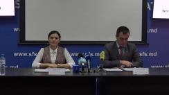 """Briefing de presă organizat de Ministerul Finanțelor de comun cu Serviciul Fiscal de Stat la subiectul """"Factura fiscală – un nou pas spre simplificarea documentării tranzacțiilor"""""""