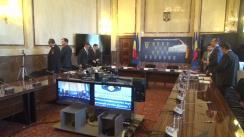 Videoconferință organizată de Ministerul Afacerilor Interne privind stadiul pregătirilor pentru iarnă