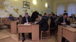 Ședința săptămânală a serviciilor primăriei Chișinău din 23 octombrie 2017